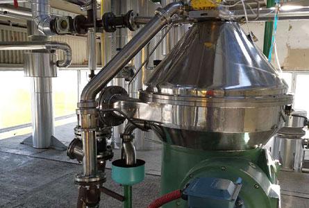 Клас Олио АД успешно въведе в експлоатация нов цех за дегумиране на сурово пресово и екстракционно масло.